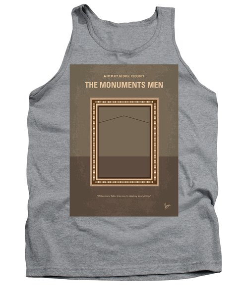 No845 My The Monuments Men Minimal Movie Poster Tank Top