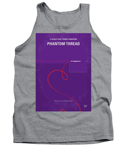 No904 My Phantom Thread Minimal Movie Poster Tank Top