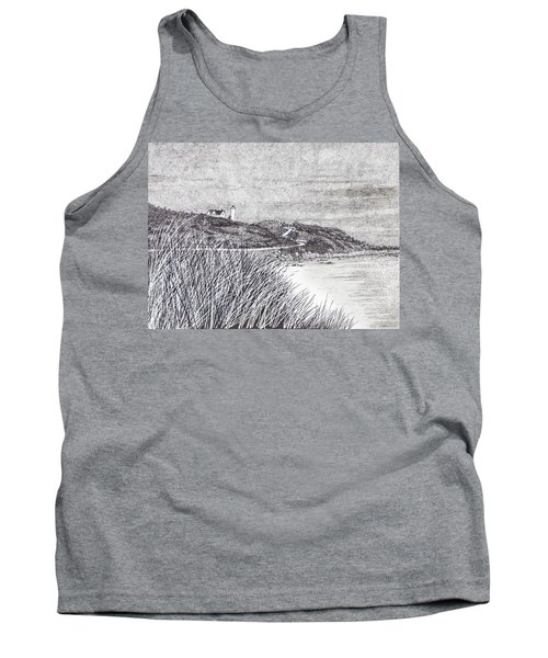 Nobska Lighthouse Tank Top