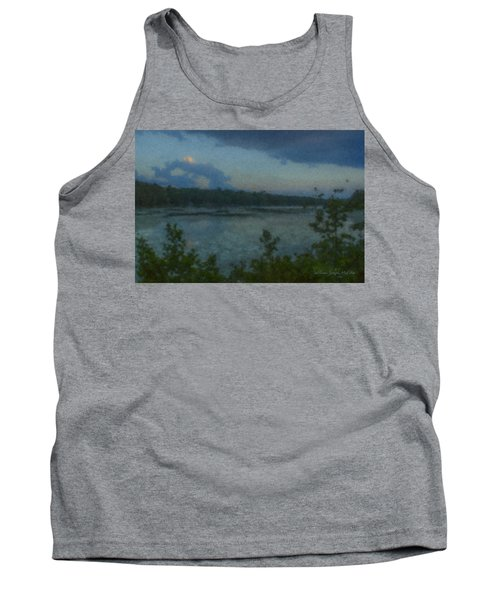 Nocturne At Ames Long Pond Tank Top