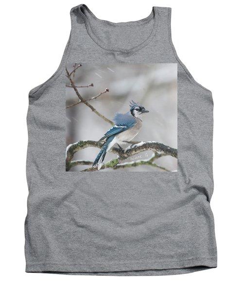 Nor' Easter Blue Jay Tank Top