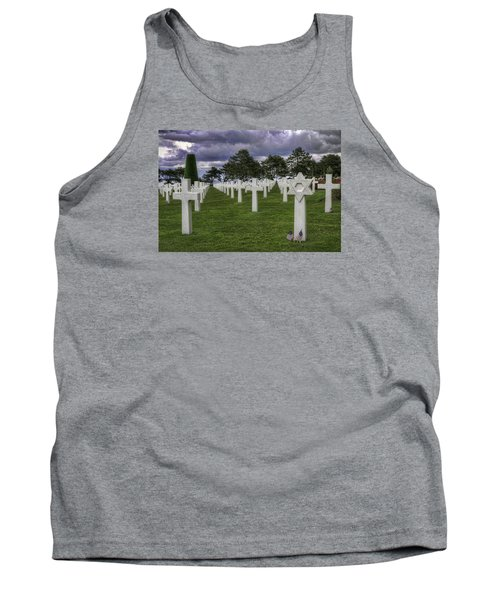 Normandy American Cemetery Tank Top