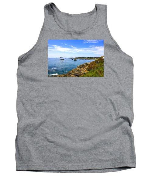 North California Coastline Tank Top
