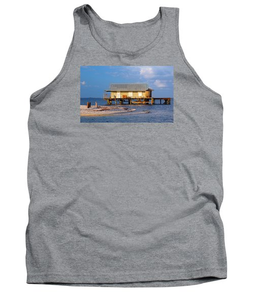 North Captiva Island Last Stilt House Standing Tank Top