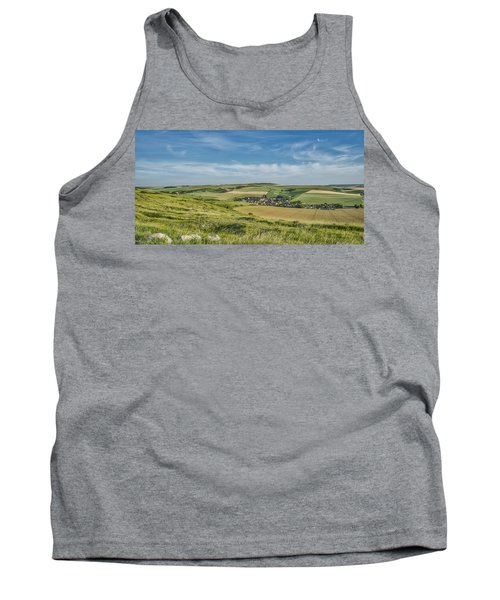 North French Scenery Tank Top