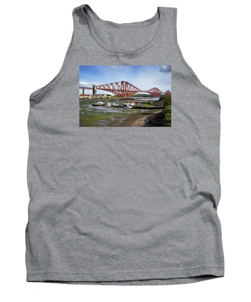 Tank Top featuring the photograph North Queensferry by Jeremy Lavender Photography