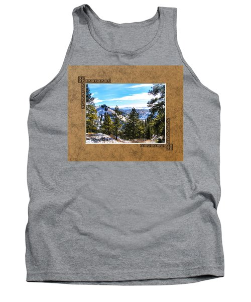 Tank Top featuring the photograph North View by Susan Kinney