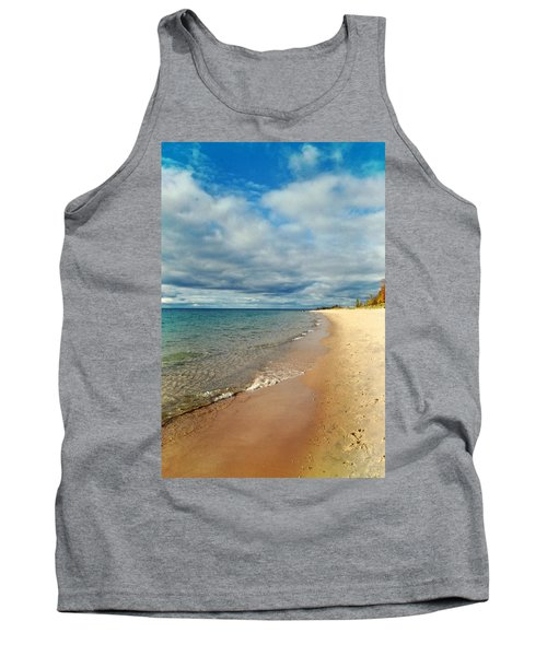 Tank Top featuring the photograph Northern Shore by Michelle Calkins