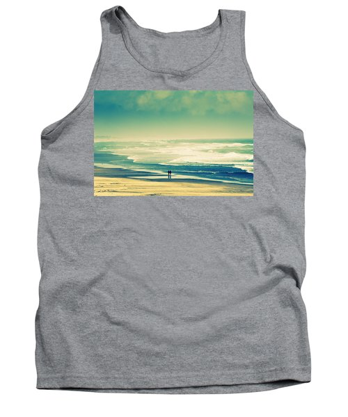 Nostalgic Oceanside Oregon Coast Tank Top