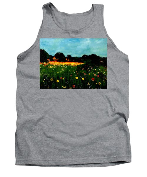 Not Another Bluebonnet Painting Tank Top