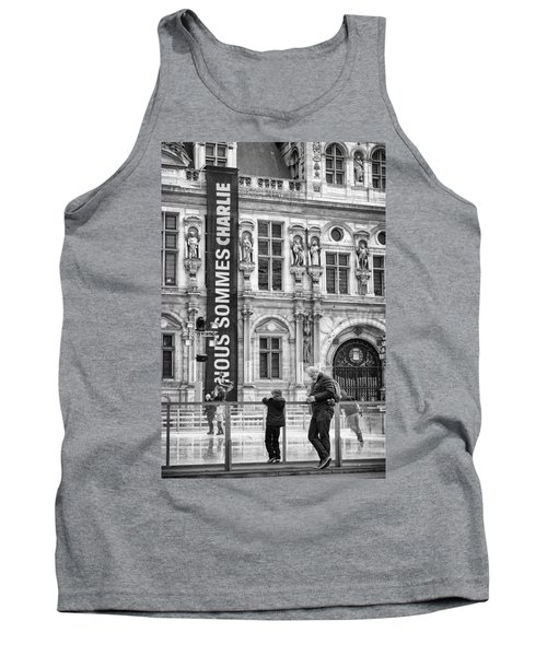 Nous Sommes Charlie Tank Top