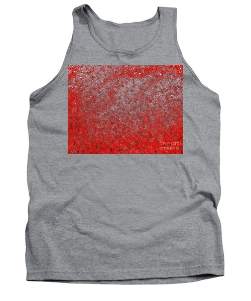 Now It's Red Tank Top by Rachel Hannah