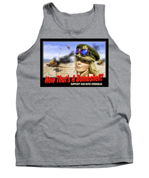 Now Thats A Bombshell Tank Top