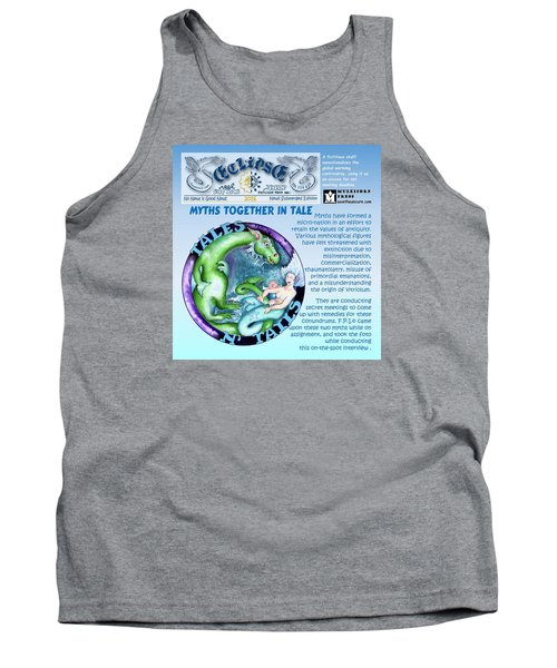 Real Fake News Excerpt Tank Top
