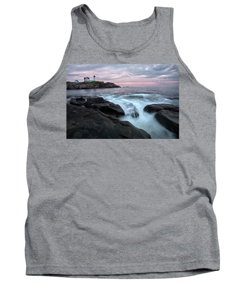 Nubble Lighthouse Of Maine Tank Top