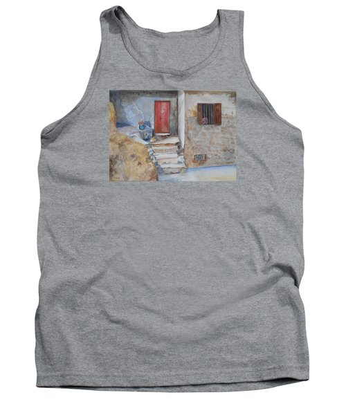 Number 3 Tank Top by Christine Lathrop