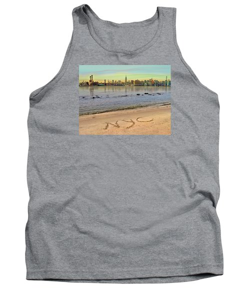 Tank Top featuring the photograph NYC by Nina Bradica