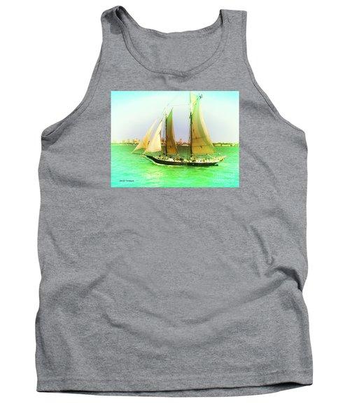 Nyc Sailing Tank Top by Denise Tomasura