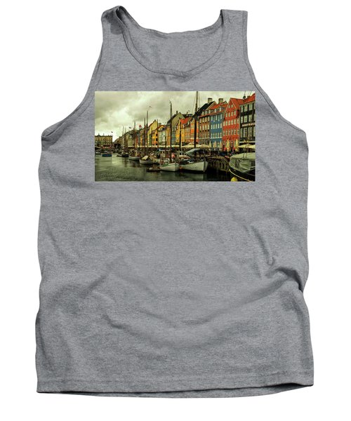 Nyhavn In Copenhagen Tank Top