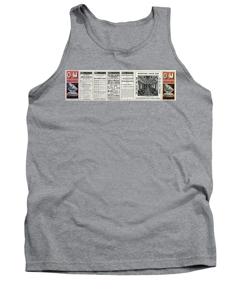 O And M Timetable Tank Top