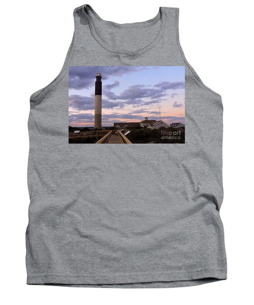 Oak Island Lighthouse Tank Top