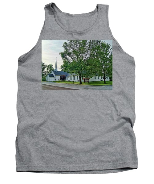 Tank Top featuring the photograph Oakland Christian Church by Cricket Hackmann