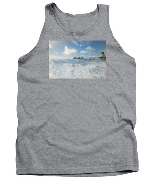 Ocean Blue At The Pier Tank Top