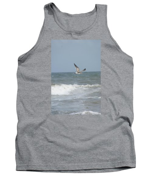 Tank Top featuring the photograph Ocean Breeze by Heidi Poulin
