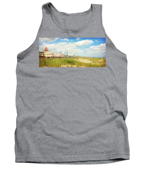 Ocean City Boardwalk Music Pier And Beach Tank Top