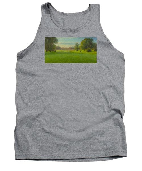 October Morning Golf Tank Top