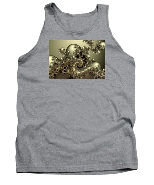 Tank Top featuring the digital art Octopus by Karin Kuhlmann