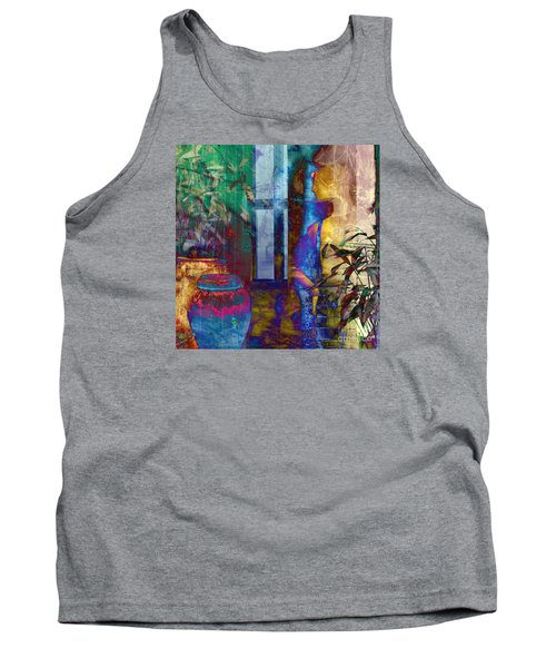 Tank Top featuring the photograph Ode On Another Urn by LemonArt Photography