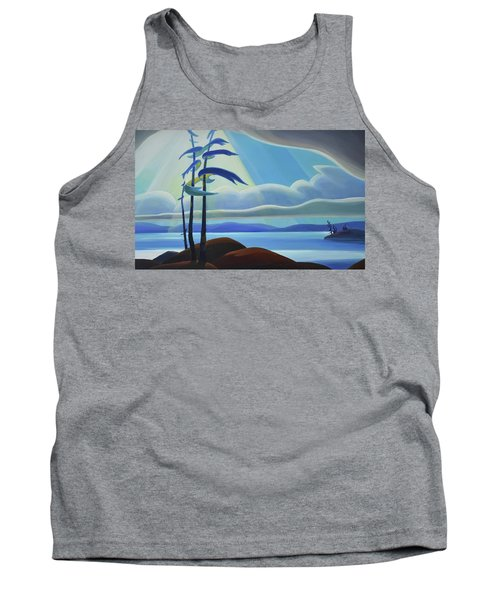Ode To The North II - Center Panel Tank Top