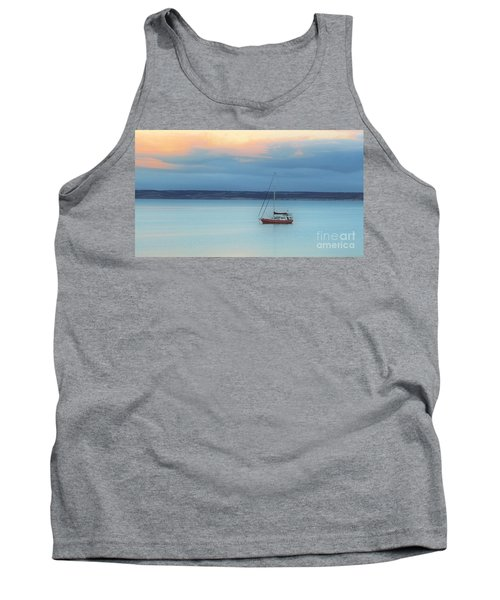 Off Sailing Tank Top by Stephen Mitchell