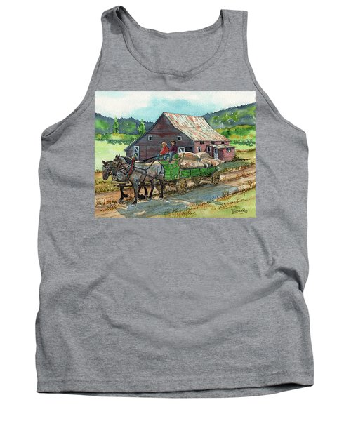 Off To Market Tank Top