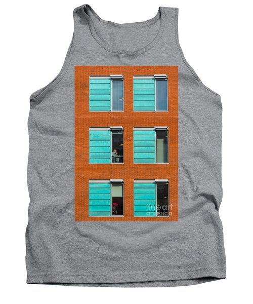 Tank Top featuring the photograph Office Windows by Colin Rayner