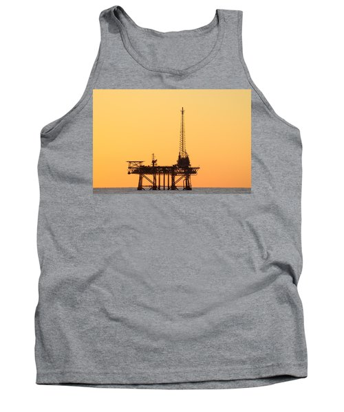 Offshore Oil And Gas Platform  Tank Top