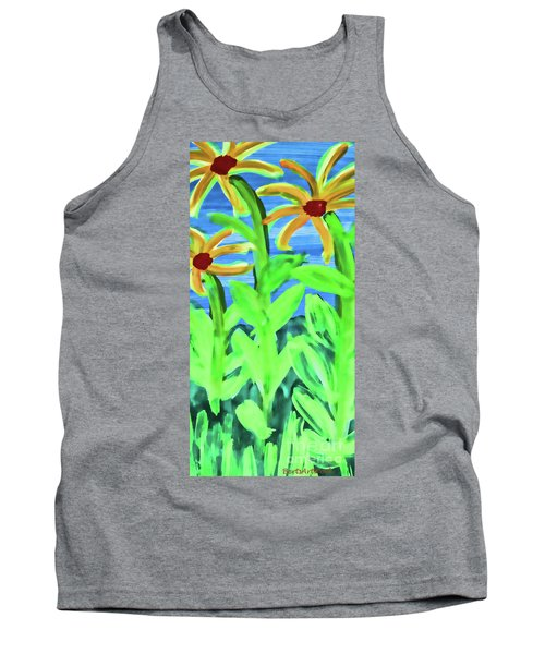 Oh Glorious Day Floral Tank Top