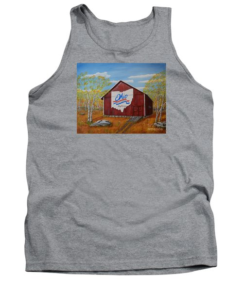 Ohio Bicentennial Barns 22 Tank Top by Melvin Turner