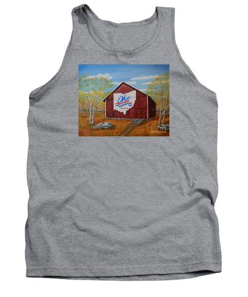 Ohio Bicentennial Barns 22 Tank Top