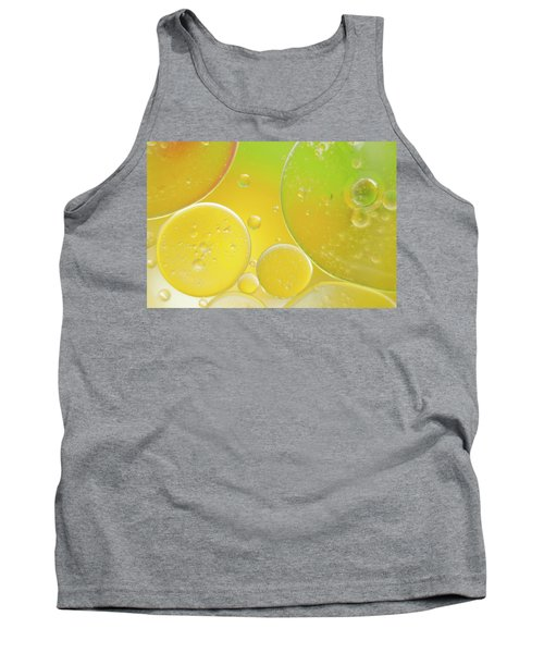 Oil And Water Bubbles  Tank Top