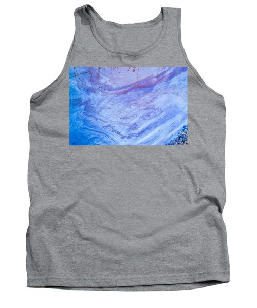 Oil Spill On Water Abstract Tank Top