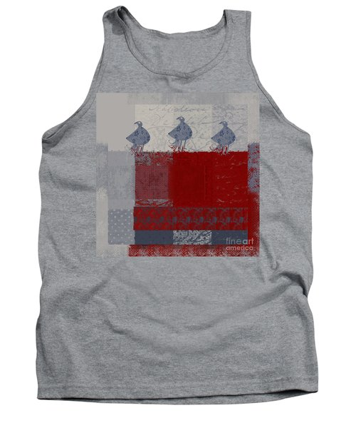Tank Top featuring the digital art Oiselot - J106161103_02bb by Variance Collections