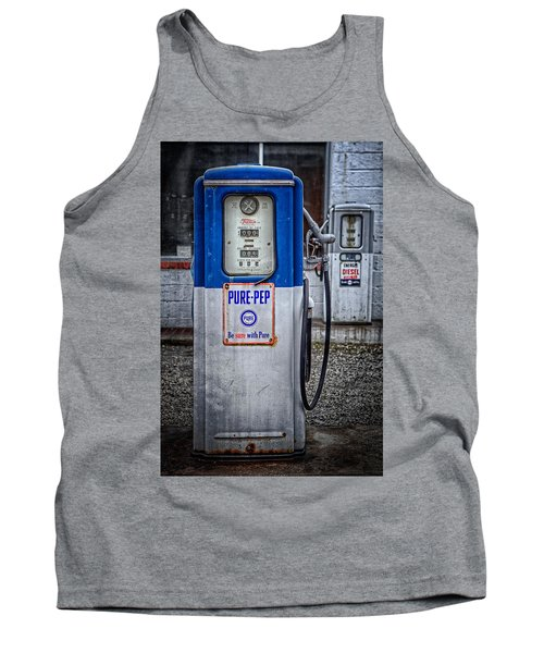 Old And Rusty  Pump  Tank Top