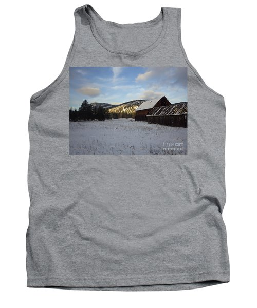 Tank Top featuring the photograph Old Barn 2 by Victor K