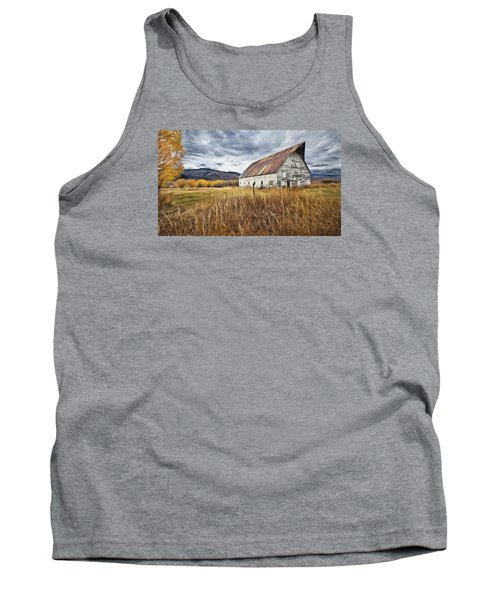 Old Barn In Steamboat,co Tank Top