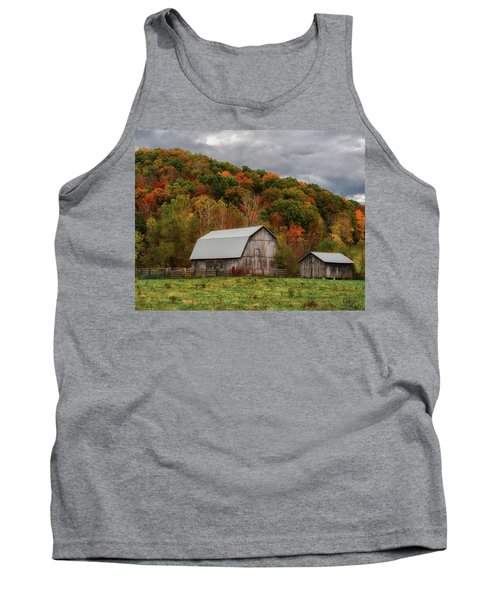 Old Barns Of Beauty In Ohio  Tank Top