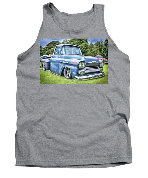 Tank Top featuring the painting Old Blue by Harry Warrick