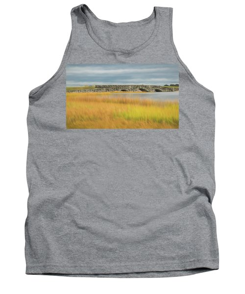 Old Bridge In Autumn Tank Top