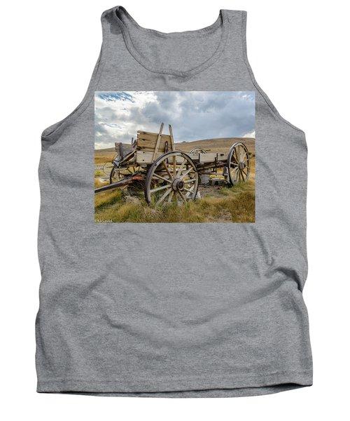 Old Buckboard Wagon Tank Top